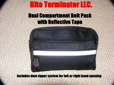 Bite Terminator® Dual-Compartment Belt Pack #700