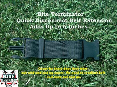 Bite Terminator® Snap in Belt Extension #830